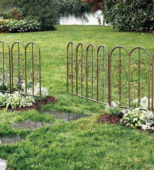 ornamental aluminum fence 8