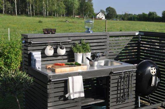 Great Outdoor Kitchen Sink Station 4