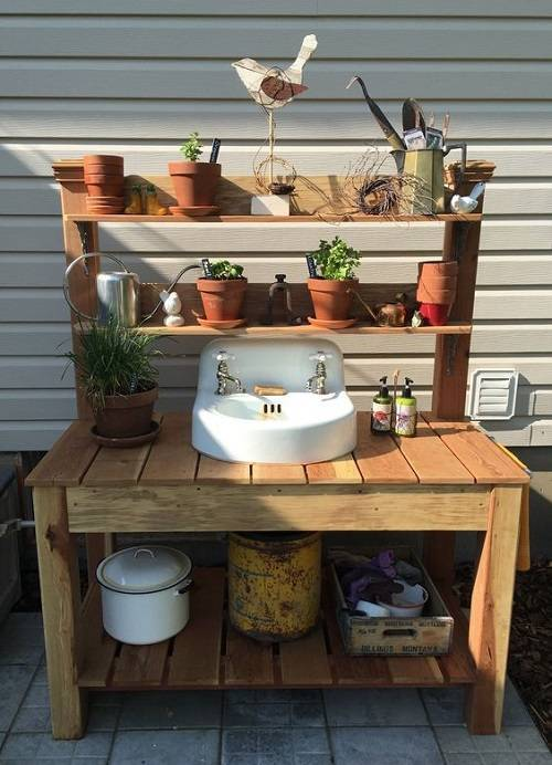 15 Most Outrageous Outdoor Kitchen Sink Station Ideas on Outdoor Patio Sink id=91012
