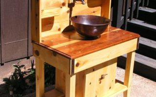 ... Outdoor Kitchen Sink Station Feature