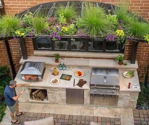 13 Gorgeous Outside Kitchen Island That You Have To Own