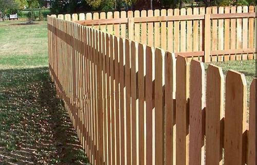 redwood fence pickets