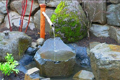rock fountain ideas 12