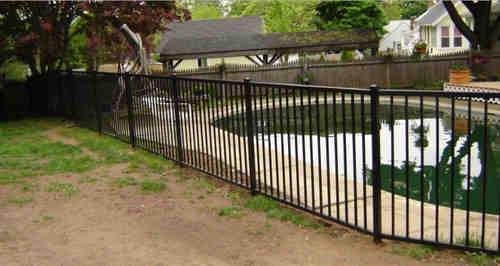 elite aluminum fence