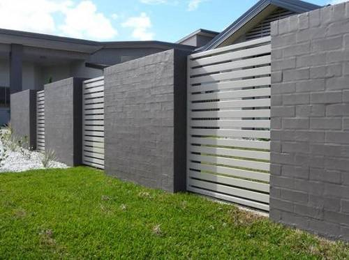 steel fence panels residential 1