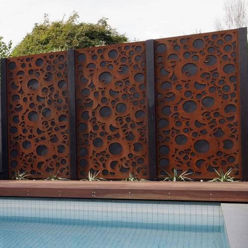 steel fence panels residential 11