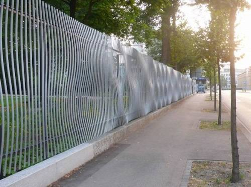 steel fence panels residential 13