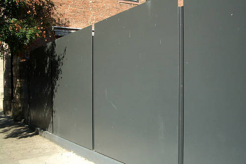 steel fence panels residential 14