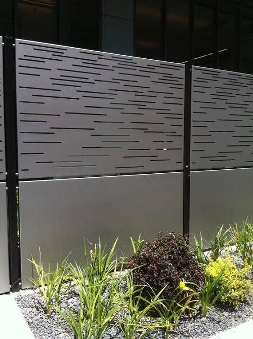 Most beautiful steel fence panels residential ideas