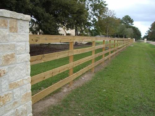 texas fence company rail fence