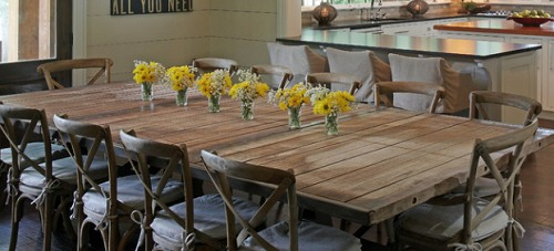 12 Seat Dining Room Table