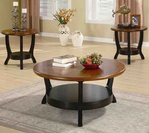 three piece living room table set 10 stylish 3 living room table sets 250 25684