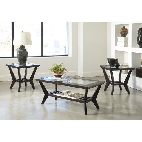 3 Piece Living Room Table Sets 2