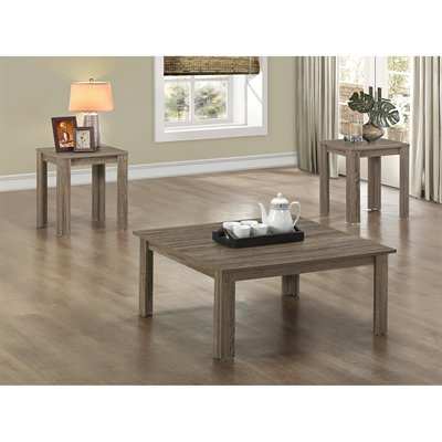3 Piece Living Room Table Sets 3