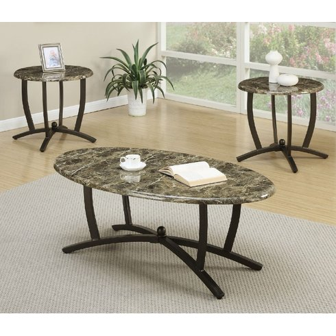 3 Piece Living Room Table Sets 8