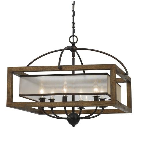 Bronze dining room light