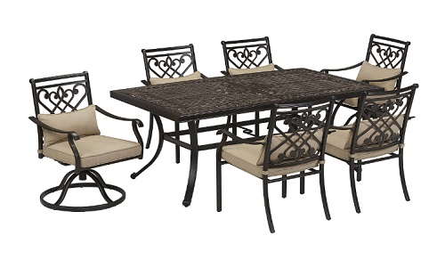Awesome 7 Piece Villa Park Dining Set