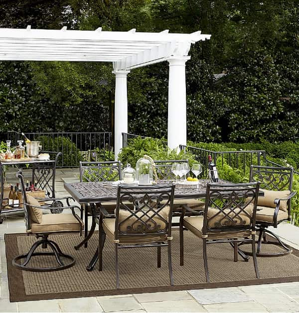 Grand resort patio furniture review 7 piece villa park for Furniture 7 reviews