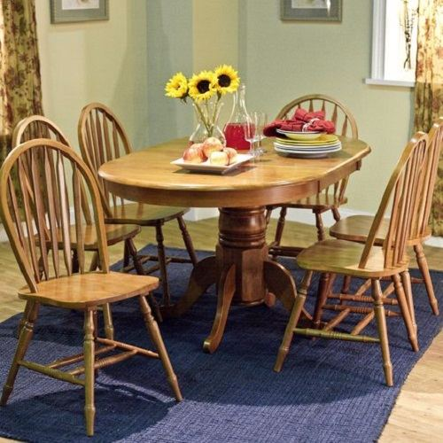 Brussels Traditional Dining Room Set 7 Piece Set: 7 Piece Dining Room Set Under $500 That Will Surprise You
