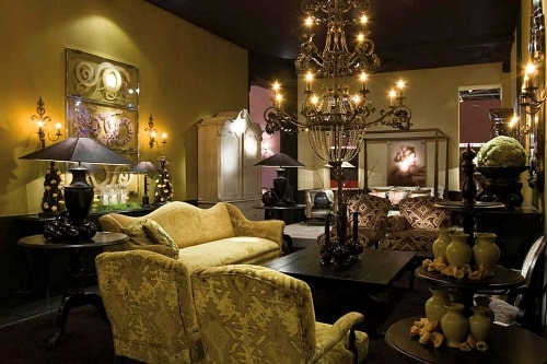 Black And Gold Living Room Decor 2