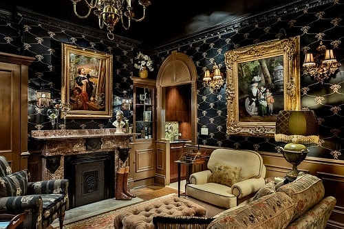 Black And Gold Living Room Decor 7