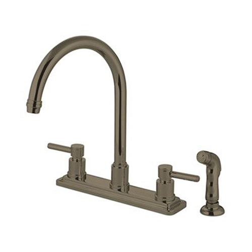 Concord Two Handle Kitchen Faucets 4 hole