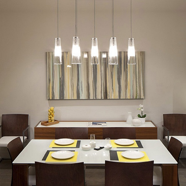 Hanging light for dining room