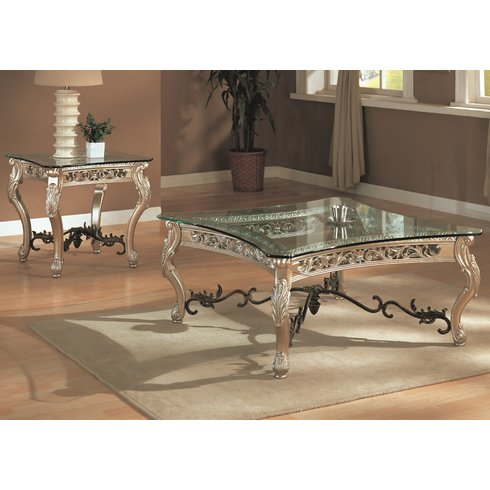 Glass living room table sets for Glass living room furniture