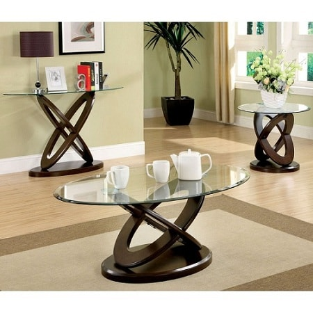 Glass Table Sets For Living Room 4