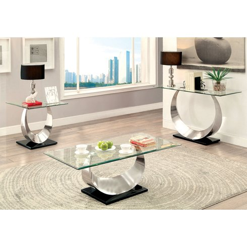 Glass Table Sets For Living Room 6