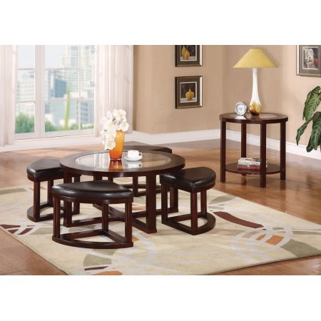 10 beautiful glass table sets for living room that you for 5 piece living room table set