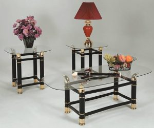 Glass Table Sets For Living Room featured