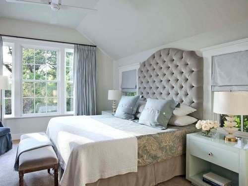 Gray and Beige Bedrooms
