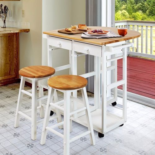 Bar Table With Stools For Kitchen: 7+ Adorable Inexpensive Dining Room Sets That Are Worth To Buy