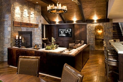Log Home Living Rooms 2