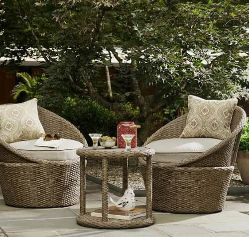 Lovington 3 Piece Bistro Set feature