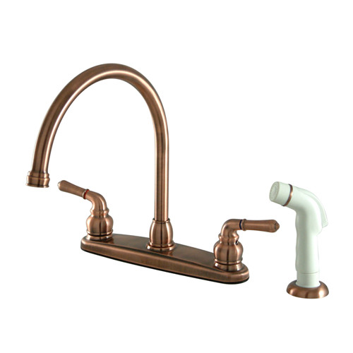 Magellan Double Handle Kitchen Faucets 4 hole