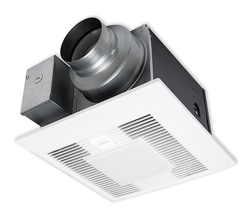 Panasonic Whisper Quiet Bathroom Fan With Light