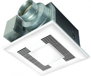 Panasonic Whisper Quiet Bathroom Fan With Light