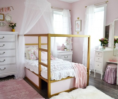pink white and gold bedroom chic and glam with pink white and gold bedroom ideas amp tips 19490