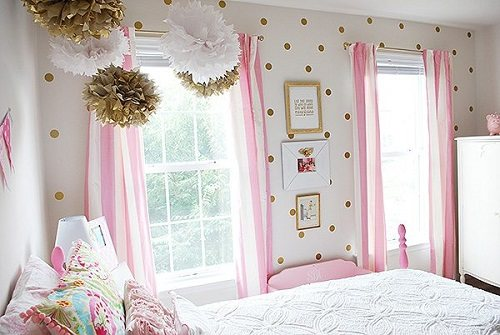 Chic And Glam With Pink White And Gold Bedroom Ideas Amp Tips