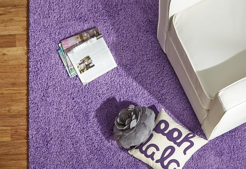Purple Living Room Rugs 2