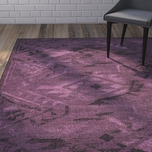 Purple Living Room Rugs 4
