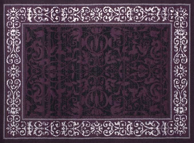 Purple Living Room Rugs 5