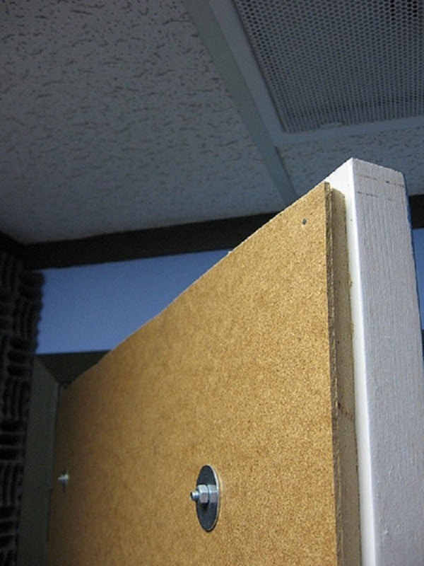 The cheapest and easiest diy soundproof bedroom door Soundproof a bedroom wall noisy neighbours