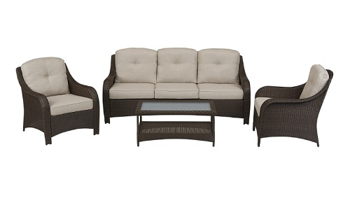 Summerfield 4 Piece Seating Set 5