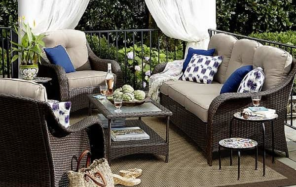Summerfield 4 Piece Seating Set