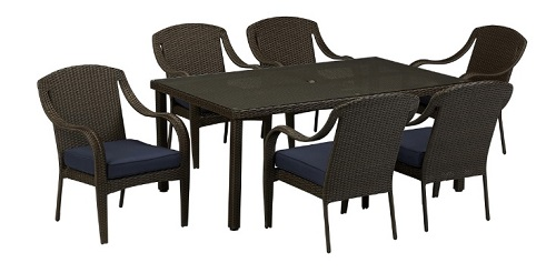 grand resort patio furniture review summerfield 7 piece dining set