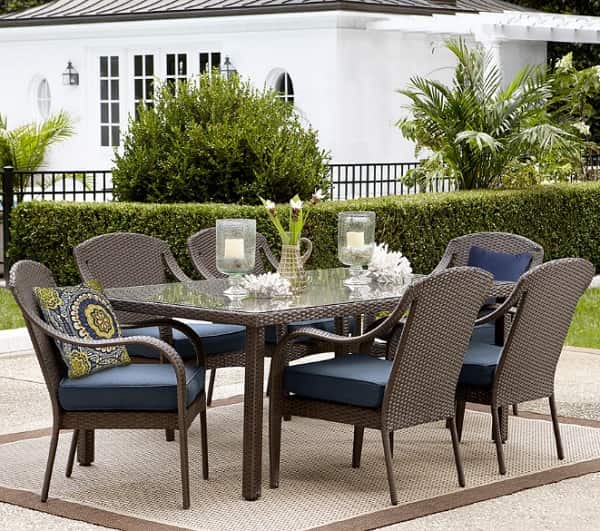 Grand resort patio furniture review summerfield 7 piece for Furniture 7 reviews