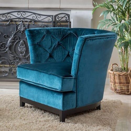 Teal Living Room Chair 2